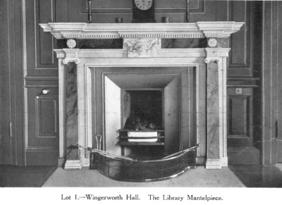 The Library Mantlepiece