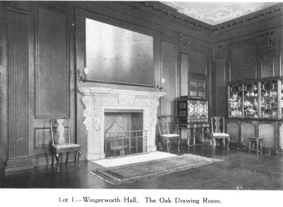 Wingerworth Hall The Oak Drawing Room