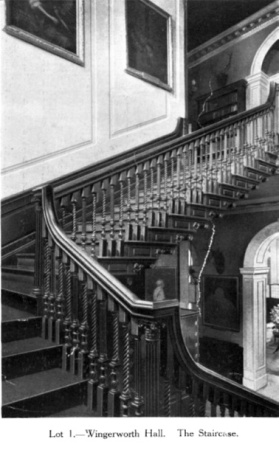 Wingerworth Hall Interior The Staircase