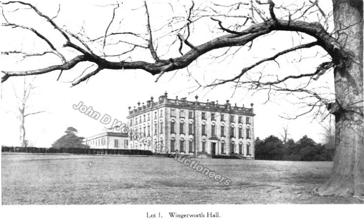 Wingerworth Hall Lot 1