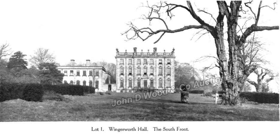 Wingerworth Hall Lot1 south front