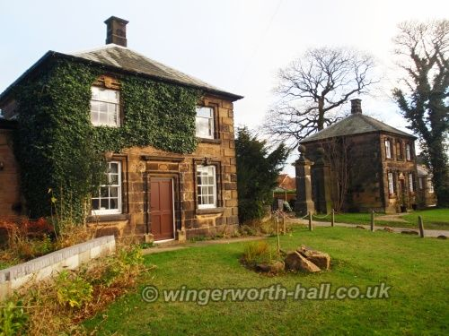 Wingerworth Hall lodges
