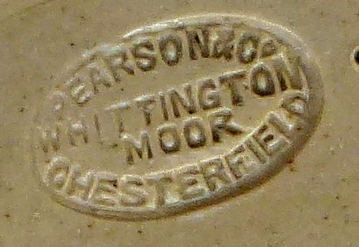 pearson pottery stamp