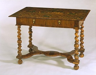 wingerworth hall table in V&A